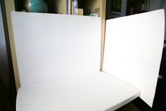 "Make a simple ""light box"" out of white poster board~How to Take Better Photos For Etsy & eBay 