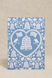 Rob Ryan Note Journal - love everything that Rob Ryan does!!!