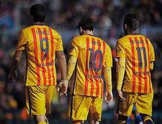 """""""81 goals between them. The deadliest front three in football continue to leave defenders scratching their heads. Want to see @neymarjr & co live at the…"""""""