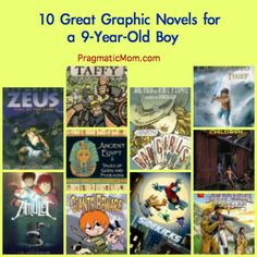 Graphic novels for boys