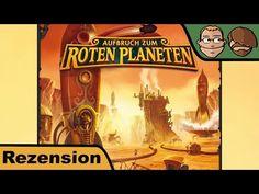 Aufbruch zum Roten Planeten – Brettspiel – Spiel – Review #168 | Hunter & Cron