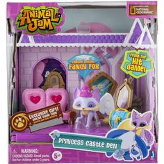 Animal Jam Princess Castle with Exclusive Figure