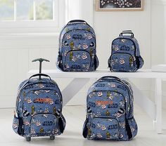 New Pottery Barn Kids Skate Camo Toiletry Bag Luggage Sleepover Blue Skateboard