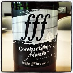 Triple fff Brewery - Comfortably Numb Strong Ale - 5.0% ABV - looking forward to trying this one later