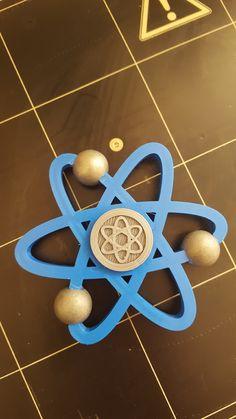 Atom+Fidget+Spinner+15mm+Steel+Ball+by+Chris_van_adri.