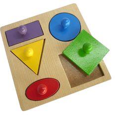 Puzzle Geo Bentuk 5 Knop by Arkana