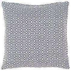 Small Diamond Pattern Outdoor Pillow