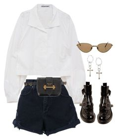 """Sem título #1608"" by oh-its-anna ❤ liked on Polyvore featuring Nobody Denim, Cartier, Prada, Lucky Brand and Balenciaga"