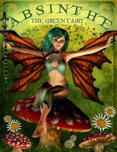 Absinthe the Green Fairy by IgnisSerpentus.deviantart.com on @DeviantArt