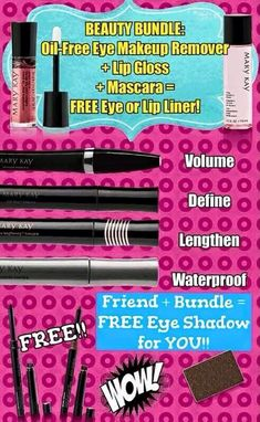 FRIDAY FUNDAY Receive this absolute amazing BEAUTY BUNDLE for only $38 (19$ savings)‼️ www.marykay.com/brookeramsey ✔️Offer ends today @ 11:59 PM ✔️Plus, refer a friend and earn a FREE mineral eye shadow > ANOTHER $8 SAVINGS!! ✔️Sale only available through me! **Cannot already have a MK consultant. If you're looking for one, I'd love to assist you** #BrookesBeauties #BeautyBundle #FridayFunday #SALE #DiscoverWhatYouLove #Makeup #Freebies #beauty #trendy #EnrichingWomensLives