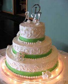 Lovely 3C's Catering Wedding Cake