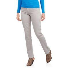 Paris Blue Women's Alexandra Slim Jean, Size: 16, Gray