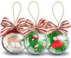 Bola de Natal Acrílica Sem Personalizar