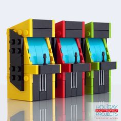 DIY LEGO Arcade Machine Christmas Ornament