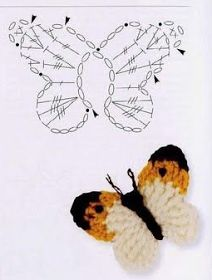 25 +> – would add the head of every little girl super cute … - Knitting and Crochet Marque-pages Au Crochet, Crochet Motifs, Crochet Diagram, Crochet Gifts, Irish Crochet, Crochet Doilies, Crochet Flowers, Crochet Toys, Crochet Stitches