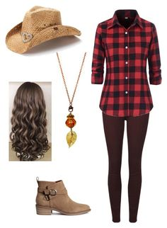 """""""Texas"""" by v-elizabeth on Polyvore featuring Paige Denim and Peter Grimm"""