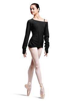 Bloch Tamir Textured Open-Knit Long Sleeve Sweater