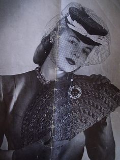 1940's era Hand Crochet Purse