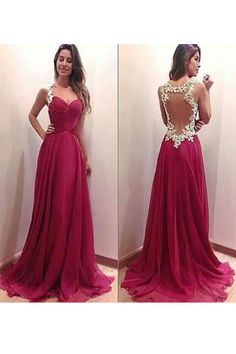 chiffon prom dress#chiffonpromdress A Line Prom Dresses2018#ALinePromDresses2018 long prom dress#longpromdress Charming prom dress#Charmingpromdress