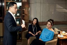 """Gathered inside Park Hyatt Washington's intimate Tea Cellar, participants of this exclusive engagement learned how to educate the palate to understand the true quality of tea, the artisan process of blending to """"improve"""" a beverage; the role tea gardens play in quality, and more."""