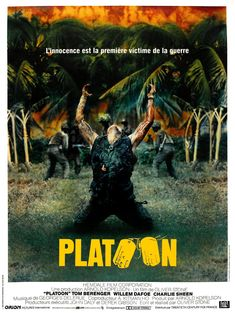 Réalisé par Oliver Stone (1986) Movies Playing, 80s Movies, Cinema Movies, Drama Movies, Good Movies, I Movie, Oliver Stone, Tom Berenger, Cinema Posters