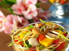 Sensual Thai Mango Chicken Salad Recipe