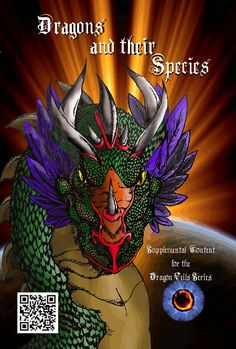 The final cover to Dragons and their Species