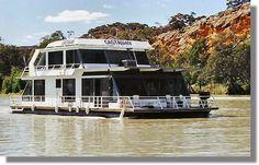 Houseboats,Castaway Houseboats murray river - South Australia
