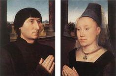 Портрет Виллема Мореля и его жены - Ганс Мемлинг