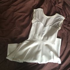 American Apparel Sweetheart Flowy Dress NWOT never worn. really cute white dress! American Apparel Dresses
