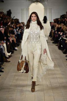 The Top Runway Looks From Ralph Lauren's F/W 15 Show via @WhoWhatWear