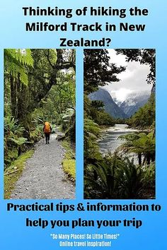 Hiking the Milford Track | So Many Places! So Little Time! Milford Track, New Zealand Travel Guide, Australia Travel Guide, Travel Magazines, Online Travel, Plan Your Trip, Outdoor Travel, So Little Time, Travel Around The World
