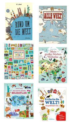 Mit Büchern die Welt entdecken – die schönste Atlanten für Kinder   Pinkepank   Bloglovin'