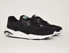 #Puma Trinomic R698 Black/White #sneakers