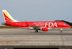 JA01FJ FDA - Fuji Dream Airlines Embraer ERJ-170STD (ERJ-170-100) taken 04-09-2009 at Shizuoka (FSZ / RJNS) airport, Japan by Dennis Lau