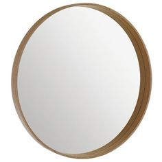 10 home aux murs des miroirs on pinterest mirror for Miroir rond ikea
