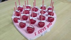 How To Make A Valentine's Day Cake Pop Arrangement: The Krazy Kool Cakes...