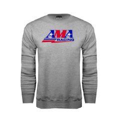 Grey Fleece Crew AMA Racing