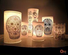dia de los muertos luminaries