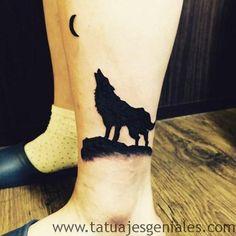 Súper galería de imágenes de Tatuajes de Lobos para inspirarte | Explicación del significado de cada tipo de Tatuaje de Lobos.