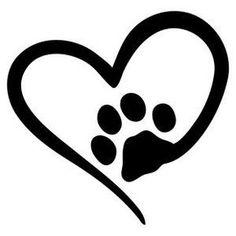 Silhouette Design Store - View Design #177310: pet love Dog Tattoos, Print Tattoos, Body Art Tattoos, Flower Silhouette, Dog Silhouette, Silhouette Design, Silhouette Images, Dog Stencil, Stencils
