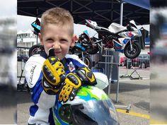 Tras muerte, motociclista de 6 años salvará a 5 niños | El Puntero