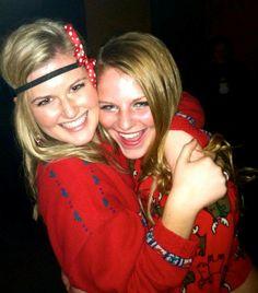 Tacky Christmas #sorority #mixer #social Bid Day Themes, Party Themes, Tacky Christmas, Christmas Ideas, Mixer Themes, Social Themes, Greek Life, Mixers, Friends Forever
