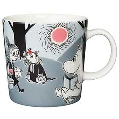 "Moomin Mugs from Arabia – A Complete Overview (2019) 62. Adventure move / Seikkailu muutto (2013–). The motif comes mainly from the story ""Moomin and the Comet""."