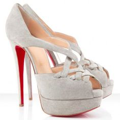 Christian Louboutin Lady Corset  Suede Pumps