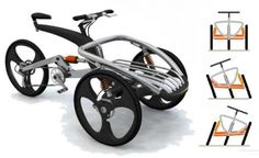 April 22, 2006 The first prize at the 10th International Bicycle Design Competition in Tapei is a rip-snorter. A brief look through our powered three-wheeler