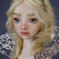 #doll #highfashion #fantasy #fashion #marinabychkova #jewelry