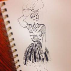 Fashion Illustration by Marney Elias