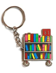 Keychain: Bookcart Souvenirs & Stationery