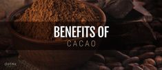 Real Benefits of Raw Cacao: Cocoa versus Cacao Chocolate Powder, Organic Chocolate, Cacao Benefits, Health Food Shops, Raw Cacao Nibs, Detox Organics, Eating Fast, Rich In Protein, Healthy Cookies